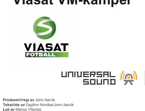 Viasat – VM i Fotball 2010 – jingle for Tyskland